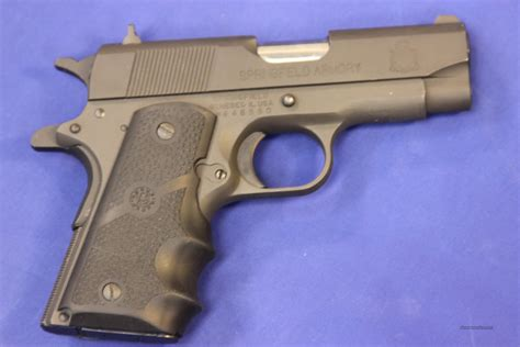 Vortex Springfield Armory M1911 Ultra Compact 45 Specs.