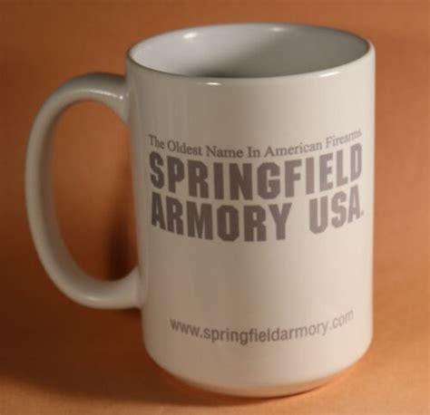 Vortex Springfield Armory Mug Tactically Proven.