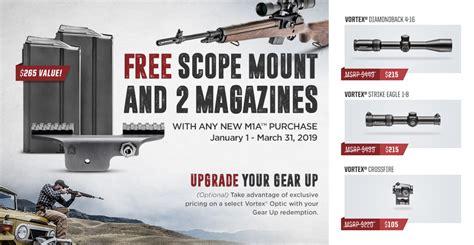 Vortex Springfield Armory Redemption Site.