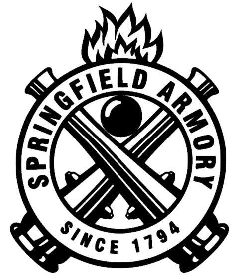 Vortex Springfield Armory White Logo Png.