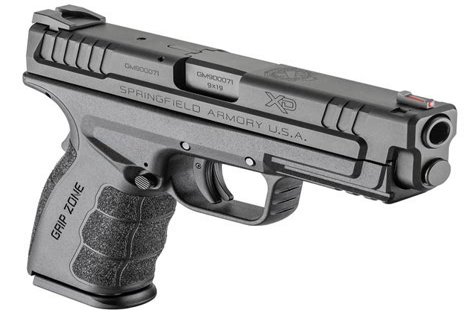 Vortex Springfield Armory Xd Mod 2 9mm 16 1 Grey 4.