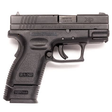 Vortex Springfield Armory Xd Sub Compact 9mm For Sale.