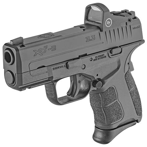 Vortex Springfield Armory Xds Semi Auto Pistol 9mm Luger 3.3.