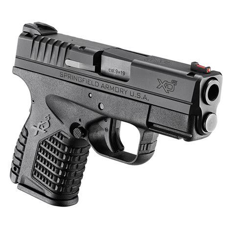 Vortex Springfield Armory Xds Semi Auto Pistol 9mm Luger 3.3 Barrel.
