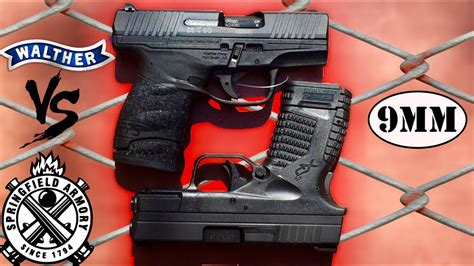 Vortex Springfield Armory Xds Vs Walther Pps.