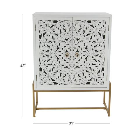 Springhill Traditional Carved 2 Door Accent Cabinet