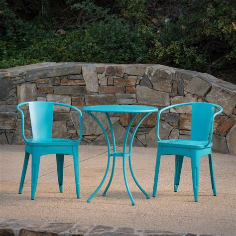 Springmont Outdoor 3 Piece Bistro Set
