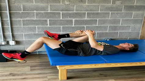 sprinting hip flexor flexibility test