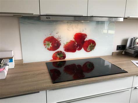 Spritzschutz Küche Glas Selbst Gestalten
