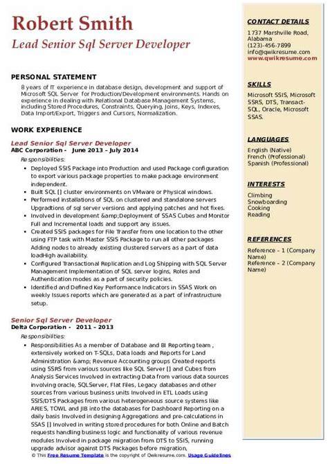 Etl Developer Resume   Character Reference Letter For Immigration ...