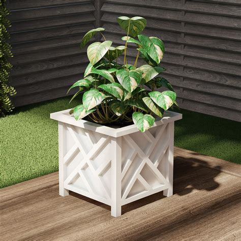 square planter boxes for trees