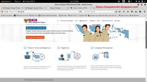 Sscn Bkn Go Id 2017 Kemenkumham Httpsscnbkngoid 2017 Website Pendaftaran Cpns Online