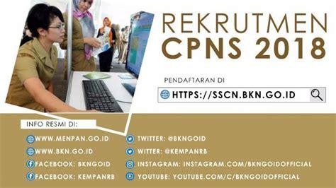 Sscn Bkn Go Id Pendaftaran Cpns Penerimaan Cpns Lembaga Administrasi Negara