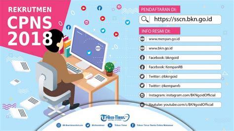 Sscn Bkn Go Id Informasi Umum Sergur 2018