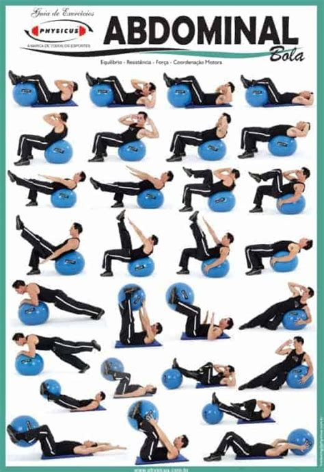 stability ball exercises for your abs