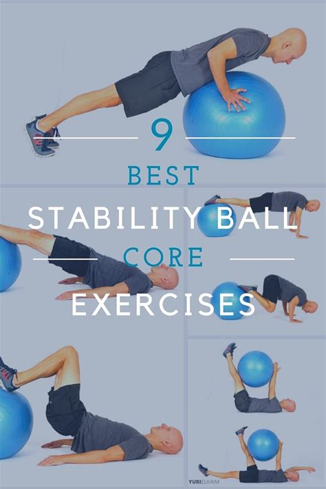 stability ball workout for core