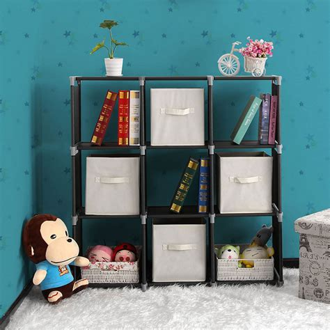 Stackable Storage Organizer Cube Unit Bookcase