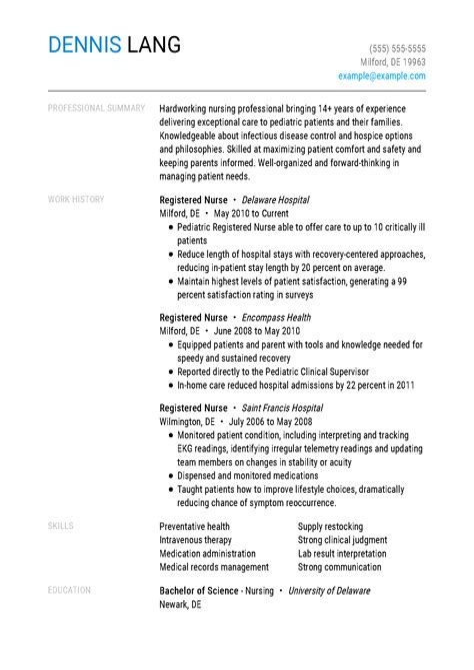 Staff Nurse Resume Format India Driver Resume Latest Resume Sample