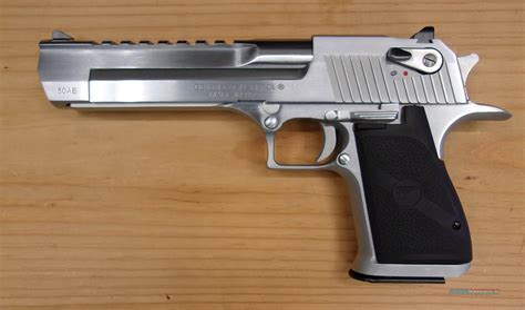 Desert-Eagle Stainless Desert Eagle .50 For Sale.