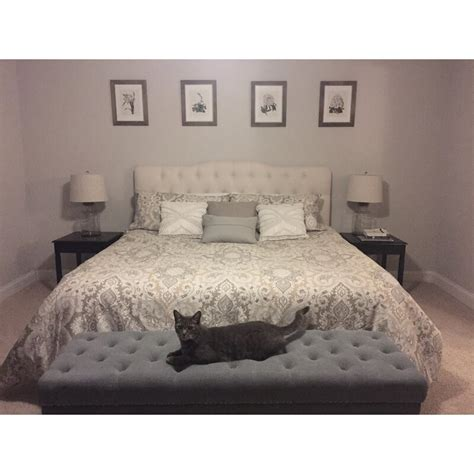 Stall Arch Upholstered Panel Headboard