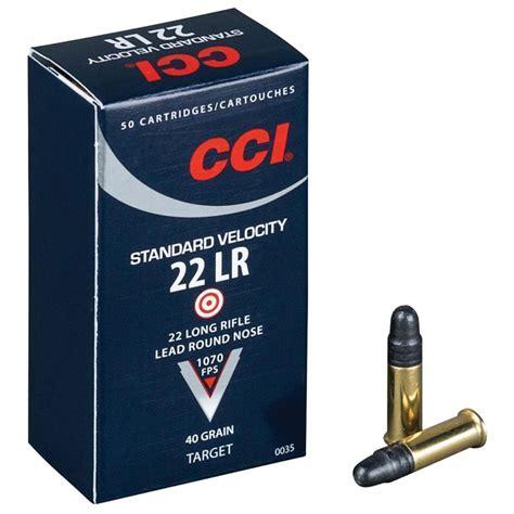 Ammunition Standard 22 Ammunition.