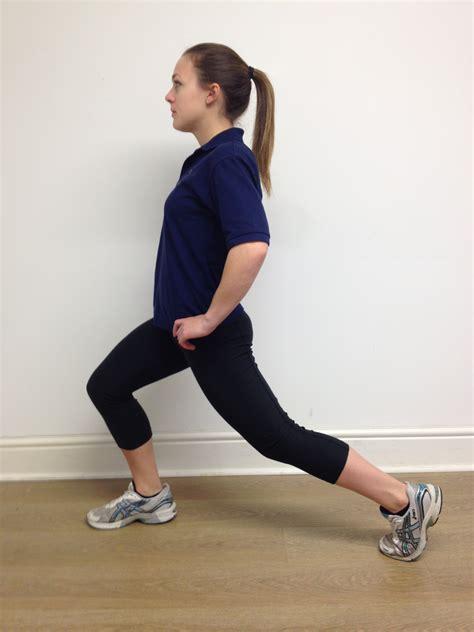 standing hip flexor stretch exercises for plantar