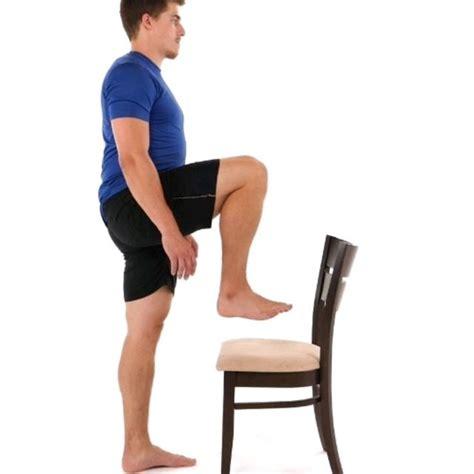 standing hip flexor testicals in wheelbarrow wheels