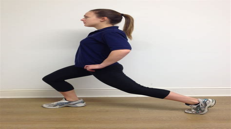 standing hip flexor testing mom www