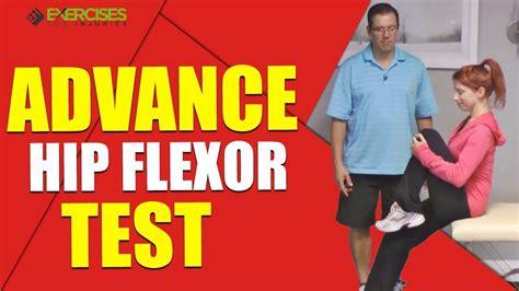 standing hip flexor tests for diabetes
