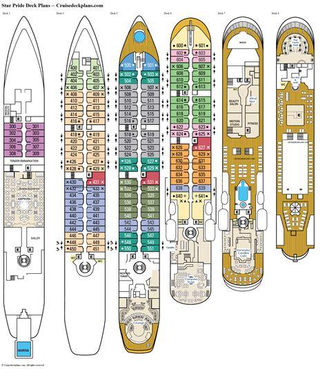 Star Pride Deck Plan