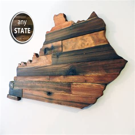 State Wood Cutouts