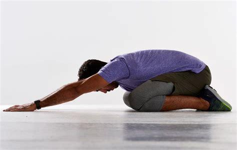 static hip flexor stretch video tumblr man screaming