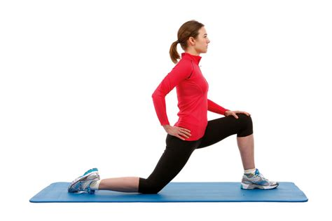 static hip flexor stretch video tumblr self