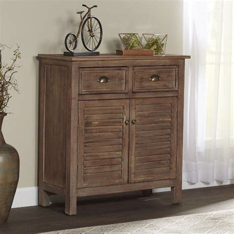Steamboat Springs Shutter Front Accent Cabinet