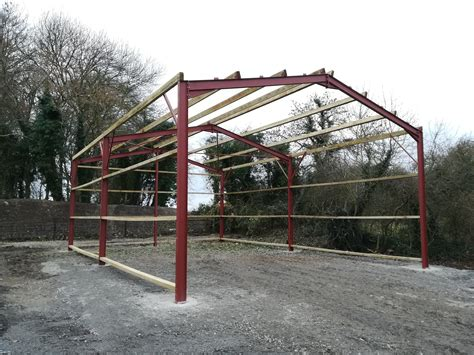 Steel Frame Shed Plans