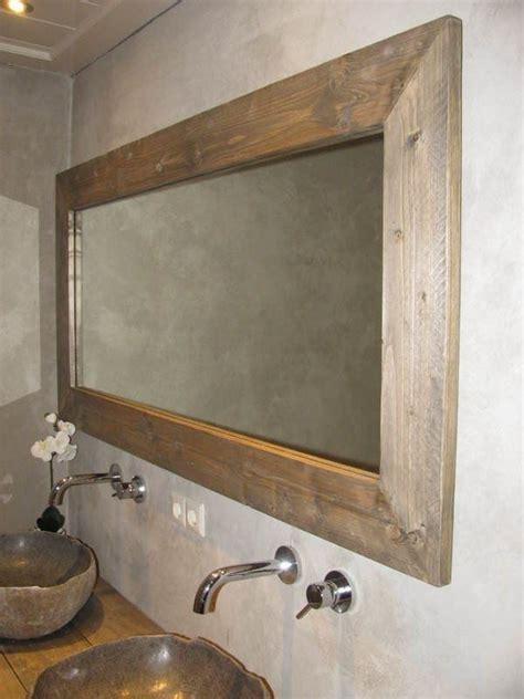 Steigerhouten Badkamer Spiegel