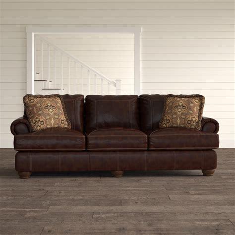 Stewartsville Leather Sofa