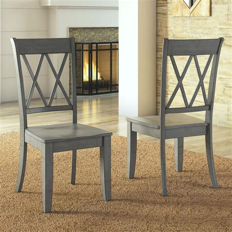 Stinnett Solid Wood Dining Chair (Set of 2)