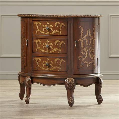 Stokes 3 Drawer and 2 Door Accent Cabinet