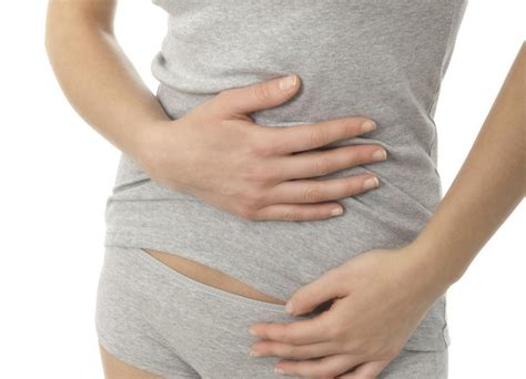 stomach pain left side lower abdomen
