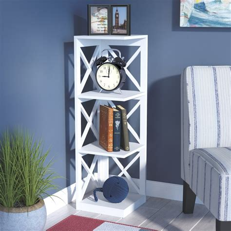 Stoneford Corner Unit Bookcase