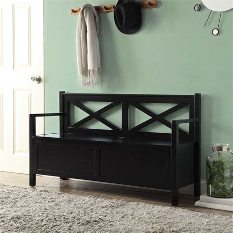 Stoneford Wood Storage Bench