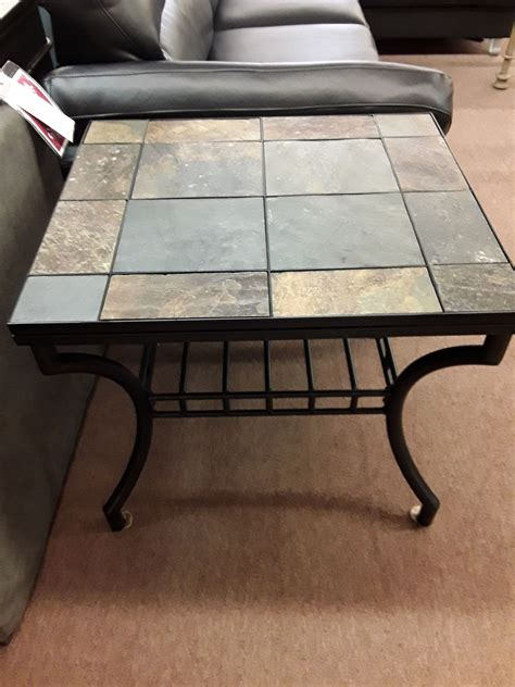 Stonetop End Table