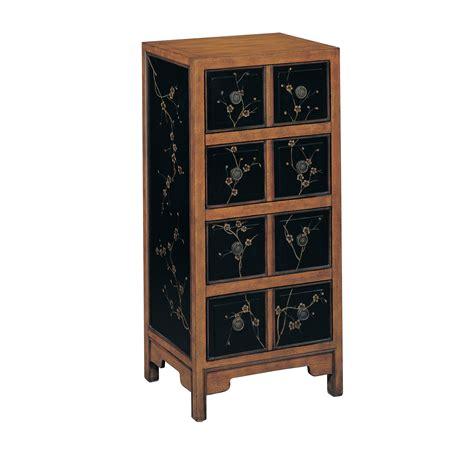 Storage Organizer Tall Wood 4 Drawer Accent Chest