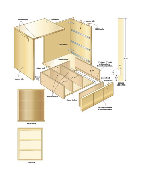 Storage Cabinet Woodworking Plans