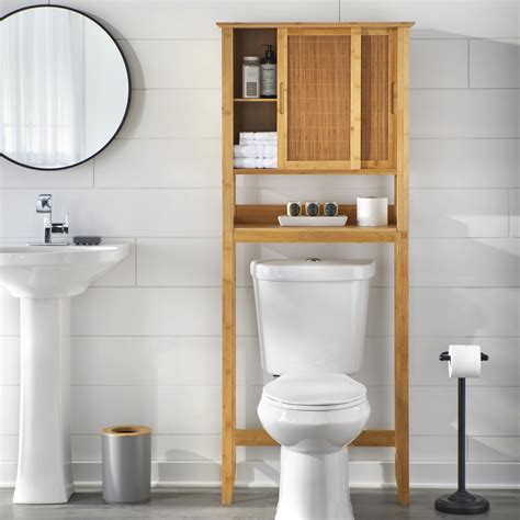 Storage For Over The Toilet