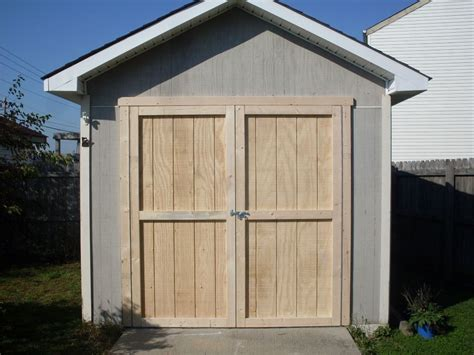 Storage Shed Door Ideas