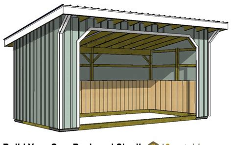 Storage Shed Plans 10x12 Free