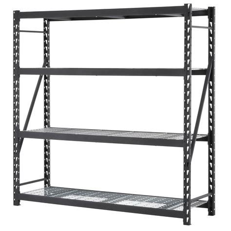 Store 4 Shelf Metal 48 H Shelving Unit