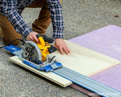 Straight Cuts With A Circular Saw